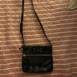 Kate Spade Black Paten Leather Crossbody